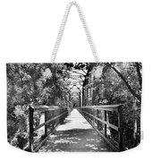 Harry Easterling Bridge Peak Sc Black And White Weekender Tote Bag
