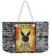 Harry Potter London Theatre Poster Weekender Tote Bag