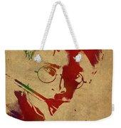Harry Potter Watercolor Portrait Weekender Tote Bag