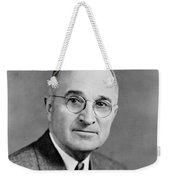 Harry Truman - 33rd President Of The United States Weekender Tote Bag by War Is Hell Store