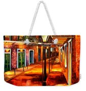 Harrys Corner New Orleans Weekender Tote Bag by Diane Millsap