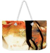 Harsh Shadows On Drop Cloth Weekender Tote Bag