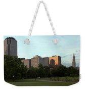 Hartford Skyline Panorama Weekender Tote Bag
