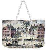 Harvard College, C1725 Weekender Tote Bag by Granger