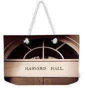 Harvard Hall #2 Weekender Tote Bag