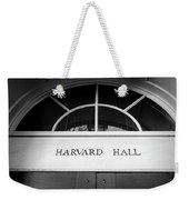 Harvard Hall Weekender Tote Bag