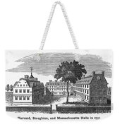 Harvard University, 1755 Weekender Tote Bag