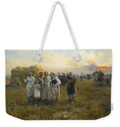 Harvest Festival By Alfred Wierusz-kowalski 1849-1915 Weekender Tote Bag