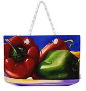 Harvest Festival Peppers Weekender Tote Bag