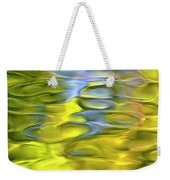 Harvest Gold Mosaic Weekender Tote Bag