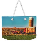 Harvest In Amish Country - Elkhart County, Indiana Weekender Tote Bag