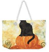 Harvest Kitty Weekender Tote Bag