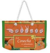 Harvest Spanish Weekender Tote Bag