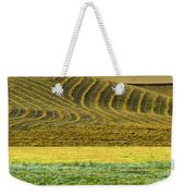 Harvested Fields Of The Palouse Weekender Tote Bag