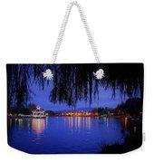 Harveston Lake At Night Weekender Tote Bag
