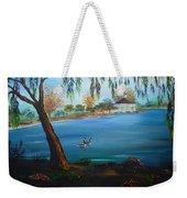 Harveston Lake Geese Weekender Tote Bag