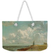 Harwich - The Low Lighthouse And Beacon Hill Weekender Tote Bag