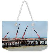 Hastings Pier, England Weekender Tote Bag