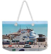 Hastings Pier Rebuild Weekender Tote Bag