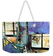 Hat And Glass Bottle Weekender Tote Bag