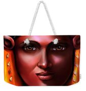 Hathor- The Goddess Weekender Tote Bag by Carmen Cordova