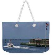 Hatteras Dock And Boat Weekender Tote Bag