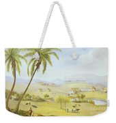 Haughton Court - Hanover Jamaica Weekender Tote Bag by James Hakewill