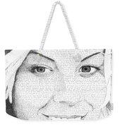 Hauna In Her Own Words Weekender Tote Bag