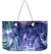 Haunted Caves Weekender Tote Bag by Linda Sannuti