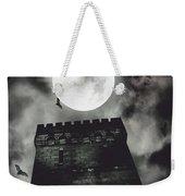 Haunted Dark Castle Weekender Tote Bag