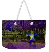 Haunted Night Weekender Tote Bag
