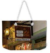 Haunted St. Augustine Weekender Tote Bag