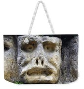 Haunted Stone Heads Weekender Tote Bag