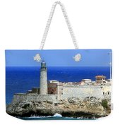 Havana Harbor Lighthouse Weekender Tote Bag