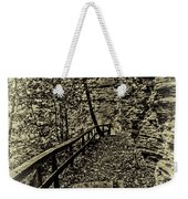 Havana Pathway In Sepia Weekender Tote Bag by William Norton