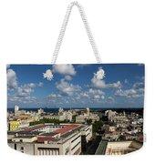 Havana Rooftops Weekender Tote Bag