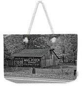 Have A Chaw Monochrome Weekender Tote Bag