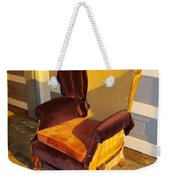 Have A Seat In Dore Alley Weekender Tote Bag by Mr Photojimsf
