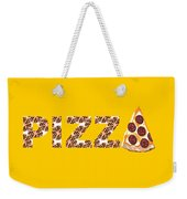 Have A Slice - Pizza Typography Weekender Tote Bag