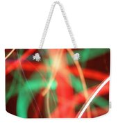 Have Yourself An Abstract Little Christmas Weekender Tote Bag