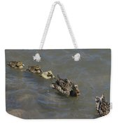 Having Your Duckies In A Row  Weekender Tote Bag