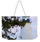 Havre De Grace Lighthouse Weekender Tote Bag
