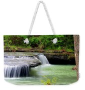 Haw Creek Falls Weekender Tote Bag