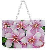 Hawaii An Tropical Plumeria Flower #338 Weekender Tote Bag