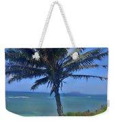 Hawaii Palm Weekender Tote Bag
