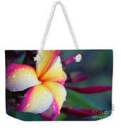 Hawaii Plumeria Flower Jewels Weekender Tote Bag