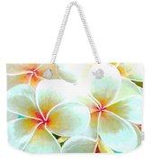 Hawaii Plumeria Frangipani Flowers #86 Weekender Tote Bag