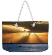 Hawaii Sunset Panorama Weekender Tote Bag