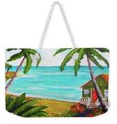 Hawaii Tropical Beach Art Prints Painting #418 Weekender Tote Bag