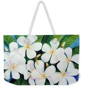 Hawaii Tropical Plumeria Flower  # 220 Weekender Tote Bag